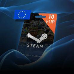 10 EUR Steam Wallet kod